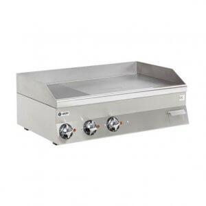 Wery stekbord FTE 610 MC med 1/3 räfflad och 2/3 slät kromståls stekhäll på 11