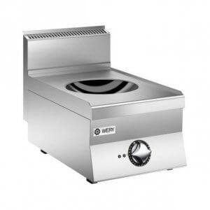 Induktionsspis wok från Wery. Modellen PIWE 64 är en wokspis med induction med 5kW. Snabb