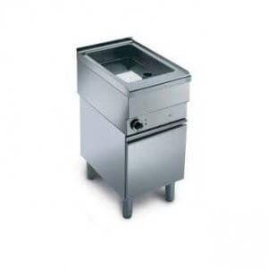 Wery universalsteklåda 21 liter i rostfritt.